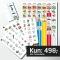 Ugeplan A3 + 3 piktogram ark (som du selv vælger) + gratis flip-flap + gratis forsendelse